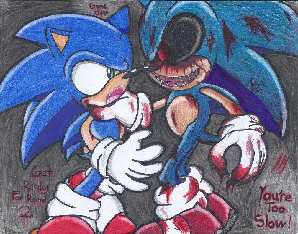 Sonic exe VS Sonic 030 - SonicexeLuv Photo (38058268) - Fanpop