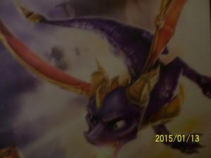 Spyro close-up.