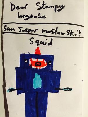 Squid by Jasper