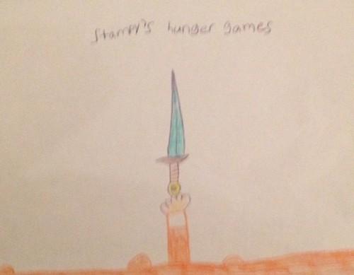 Stampylongnose wallpaper titled Stampy Hunger Games