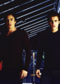 Stefan and Damon - the-vampire-diaries-tv-show photo