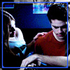 Stiles & Lydia تصویر probably with a ویژن ٹیلی receiver called Stydia Martinski