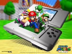 Super Mario 64 DS Hintergrund