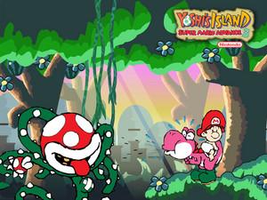 Super Mario Advance 3: Yoshi's island پیپر وال