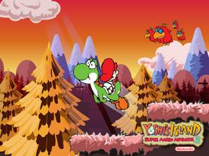 Super Mario Advance 3: Yoshi's island wallpaper