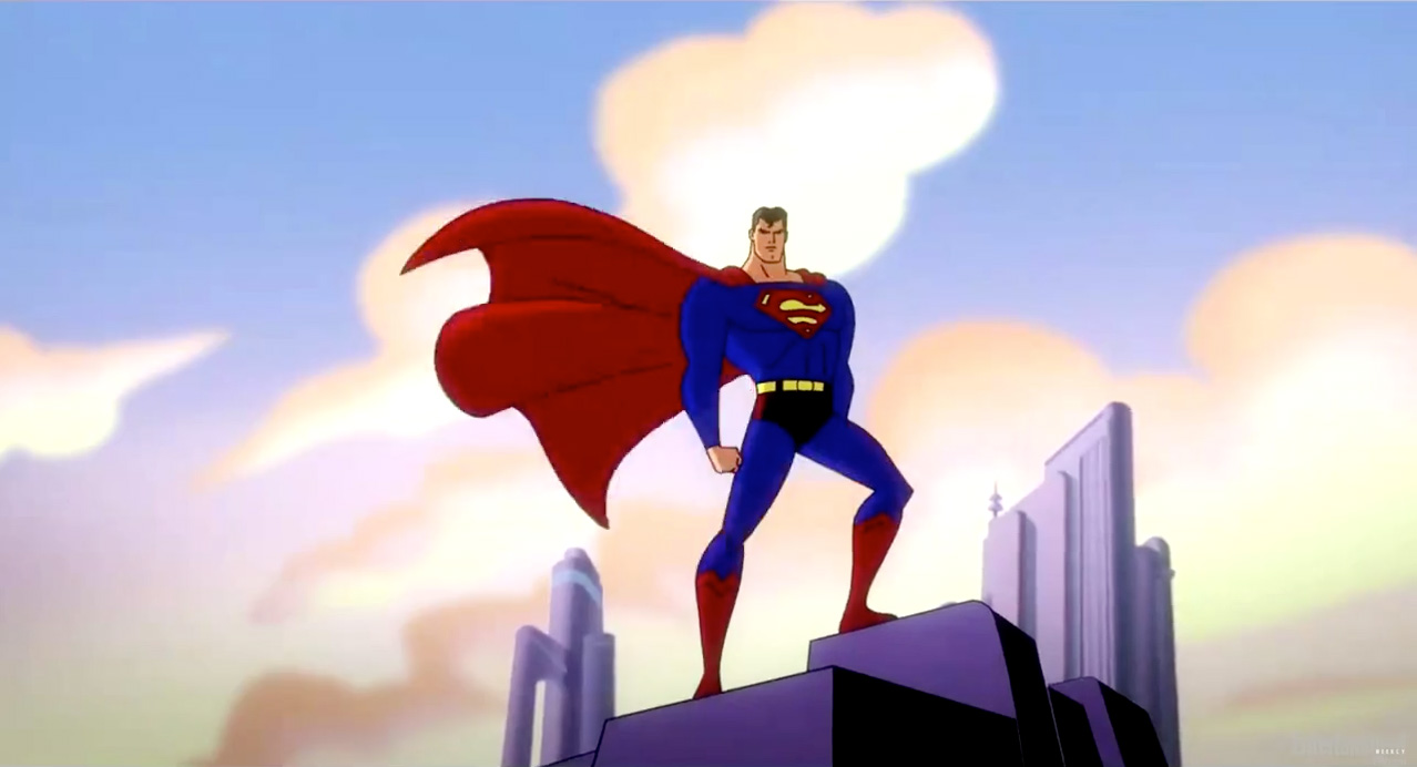 Superman - Animated Anniversary.