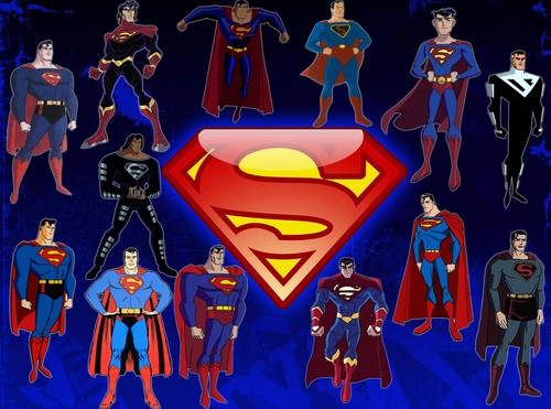 Superman Hintergrund with Anime entitled Superman Animated