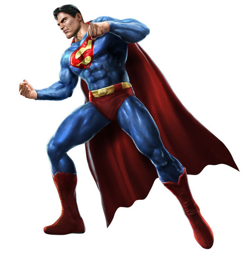 Superman Hintergrund entitled Superman - Mortal Kombat vs DC Universe