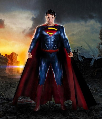 Superman kertas dinding probably with a surcoat entitled Superman - New 52 Movie