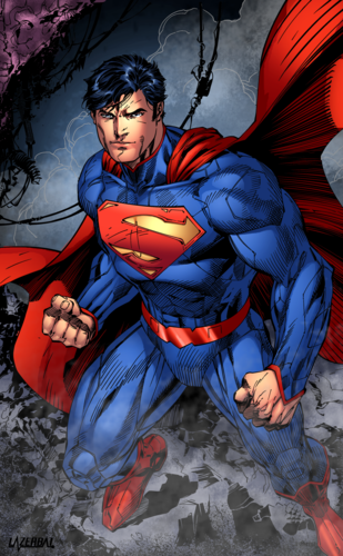 Superman Hintergrund containing Anime entitled Superman