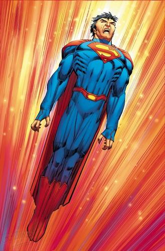 Superman Hintergrund entitled Superman - New 52