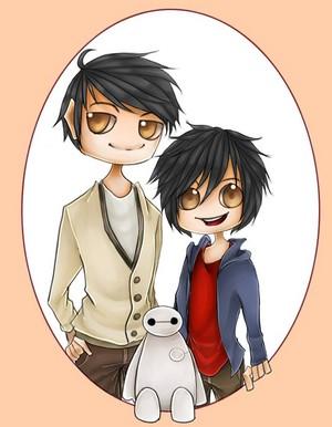 Tadashi and Hiro