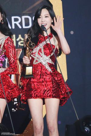 Taeyeon Seoul 音楽 Awards 2015