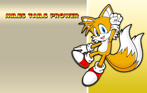 "Miles ""Tails"" Prower Обои containing Аниме titled Tailz!:3:)"