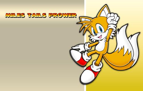 "Miles ""Tails"" Prower karatasi la kupamba ukuta with anime titled Tailz!:3:)"