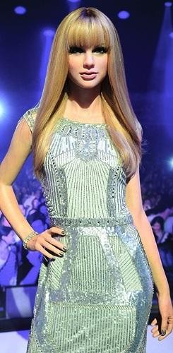 Taylor Swift's Wax Figure