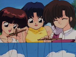 Tendo Sisters (Nabiki, Akane, and Kasumi)_らんま1/2