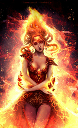 The Flame Princess