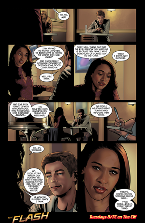 The Flash - Episode 1.11 - The Sound and the Fury - Comic 미리 보기