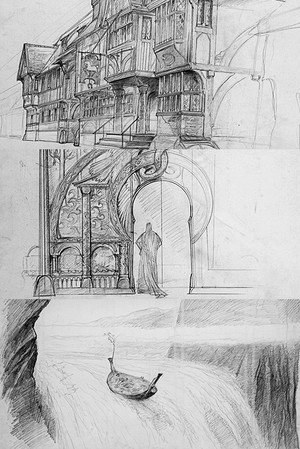 The Lord Of The Rings Trilogy Art sejak John Howe