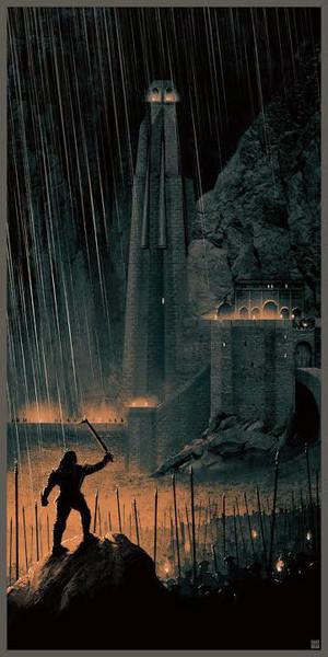 The Lord Of The Rings Trilogy Art por Matt Ferguson