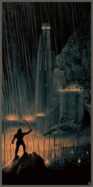 The Lord Of The Rings Trilogy Art by Matt Ferguson