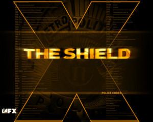 The Shield karatasi la kupamba ukuta