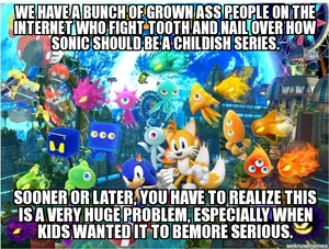 The Sonic Fandom's Huge Problem