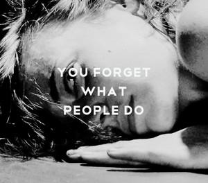 U forget What People Do