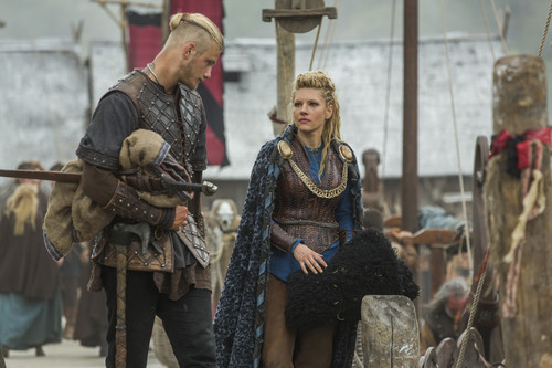"""Vikings (TV Series) wallpaper probably containing a surcoat titled Vikings """"Mercenary"""" (3x01) promotional picture"""