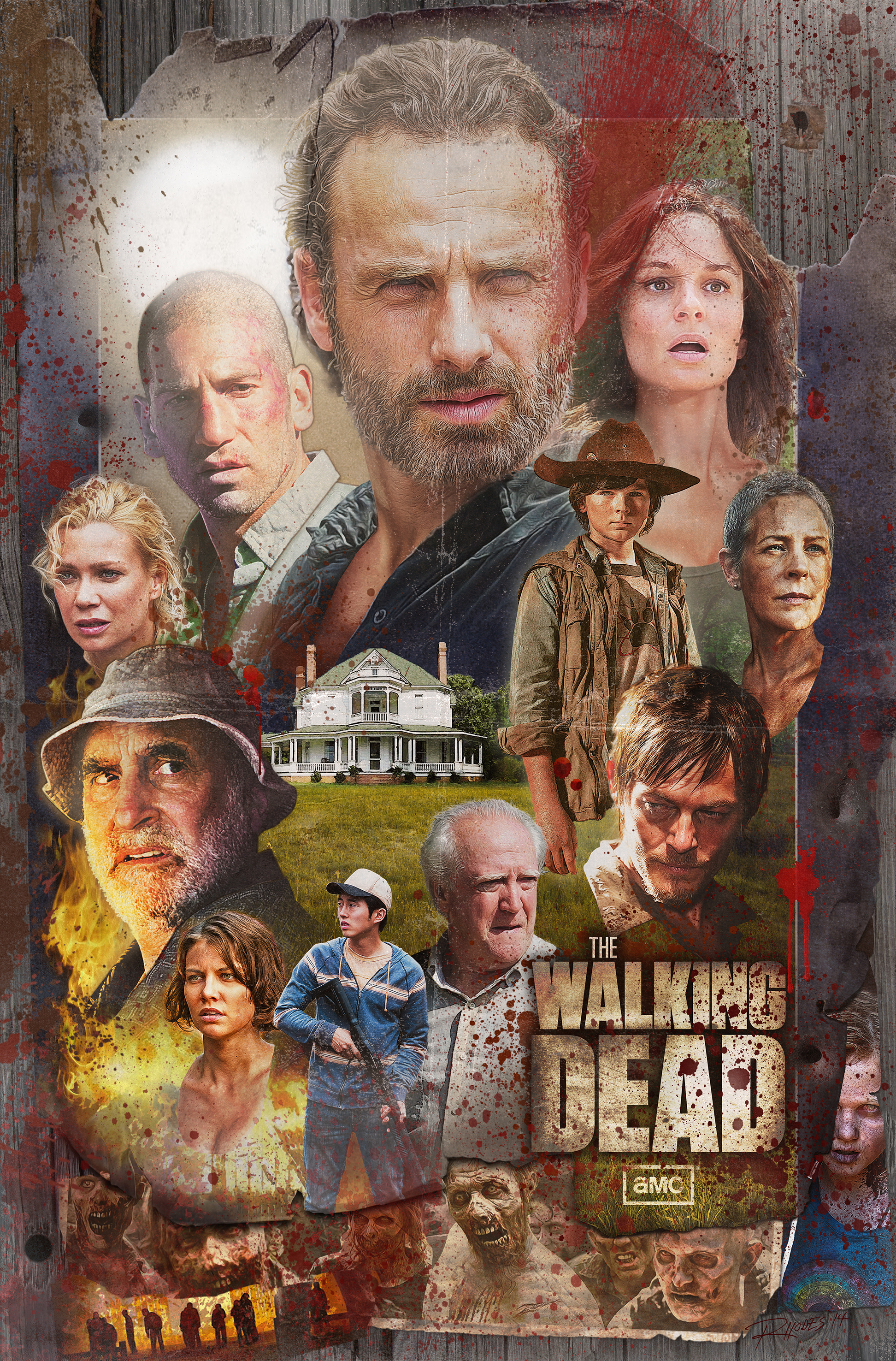 Walking Dead Season 2 Poster Cheef411 Fan Art 38018867