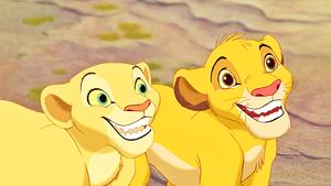 Walt डिज़्नी Screencaps - Nala & Simba