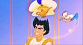 Walt Disney Screencaps - Prince Aladdin & Genie - walt-disney-characters photo
