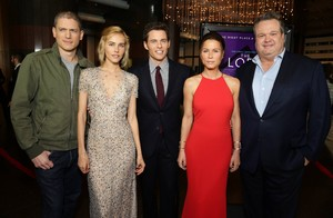 Wentworth Miller Attends First Movie Premiere in Over 4 Years