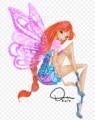 Winx Club Bloom Butterflyix 2D