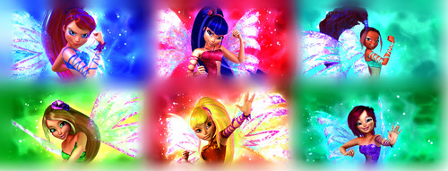 윙스 클럽 바탕화면 possibly containing a 분수 called Winx Club Sirenix 3D