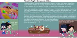 Wreck-It Ralph 2 Storyboard of Ideas 46