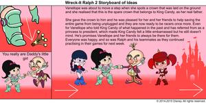 Wreck-It Ralph 2 Storyboard of Ideas 49
