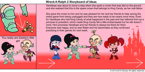Wreck-It Ralph 2 Storyboard of Ideas 49