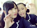 Yamada Nanami and Hama Sayuna - akb48 photo