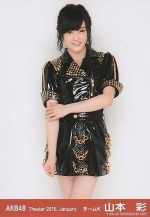 Yamamoto Sayaka - AKB48 Theater 2015 January