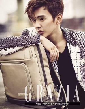 Yoo Seung Ho for Grazia
