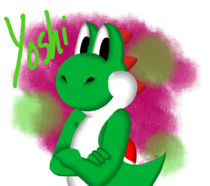 Yoshi's the Man!