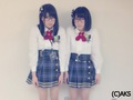 Yoshikawa Nanase and Shimizu Maria - akb48 wallpaper
