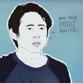 You Are Rheelly Beautiful! - the-walking-dead fan art