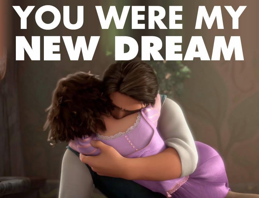 You were my new dream