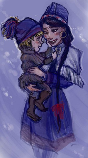 Young Kristoff and his Mother