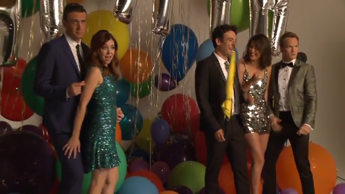 How I Met Your Mother wallpaper titled behind the scenes- EW photoshoot