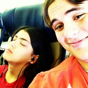 blanket with his bro prince jackson