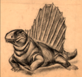 dimetrodon - fantasia photo